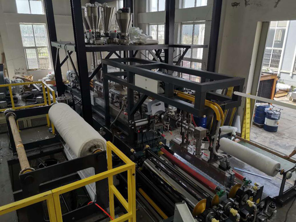 One-step Production Line of Twin-screw Extruder for TPU Sheet
